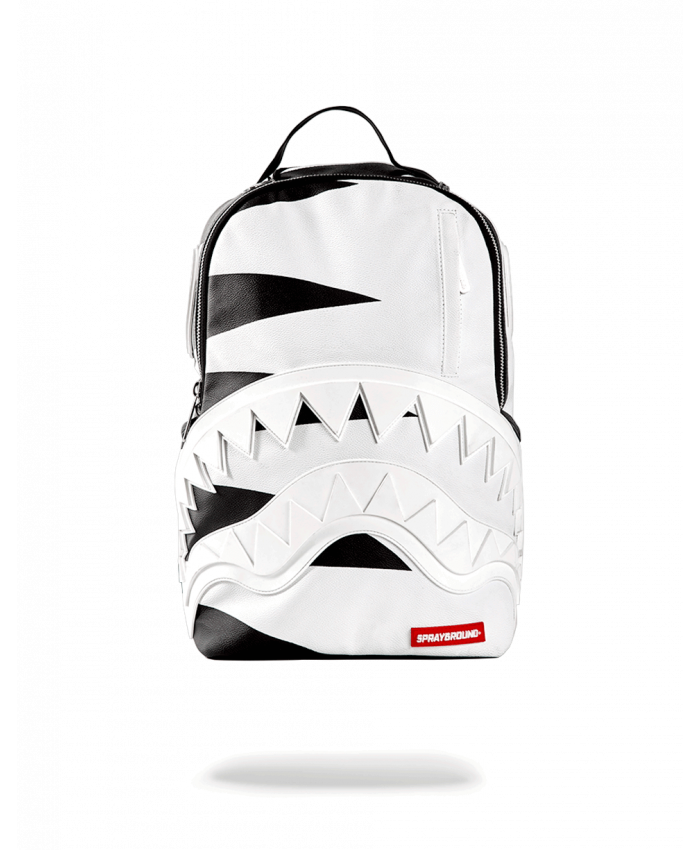MOCHILA SPRAYGROUND - PHANTOM WHITE RUBBER SHARK