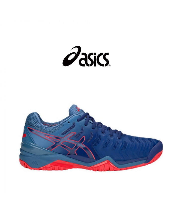 CALZADO ASICS MASCULINO - GEL-RESOLUTION 7 CLAY BLUE PRINT/BLUE PRINT