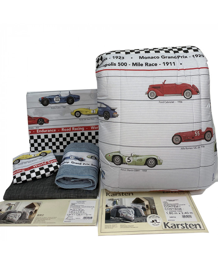 KIT DE CAMA KARSTEN - AUTOS