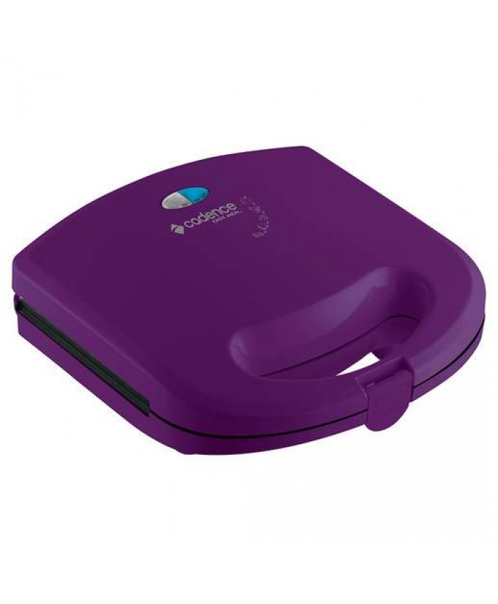 SANDWICHERA Y MINI GRILL CADENCE - COLOR LILA