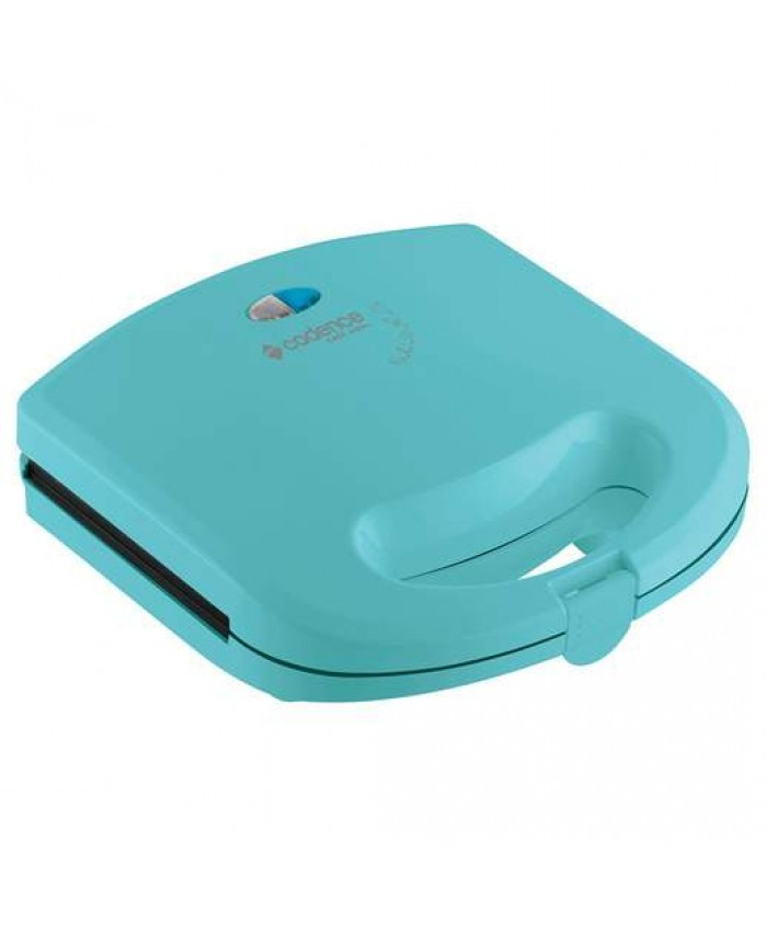 SANDWICHERA Y MINI GRILL CADENCE - COLOR VERDE AGUA