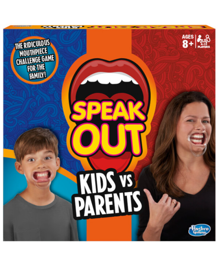 HASBRO GAMING SPEAK OUT KIDS VS PARENTS