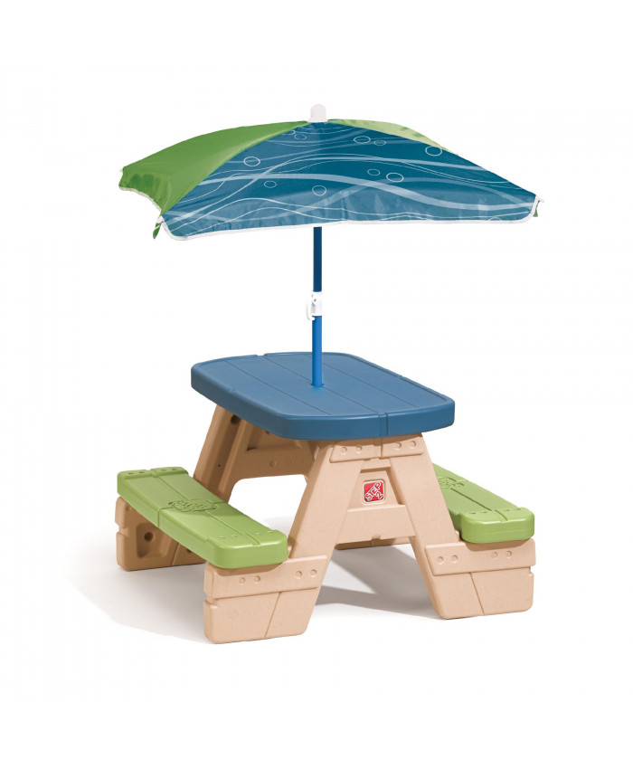 MESA SIT AND PLAY PICNIC CON SOMBRILLA