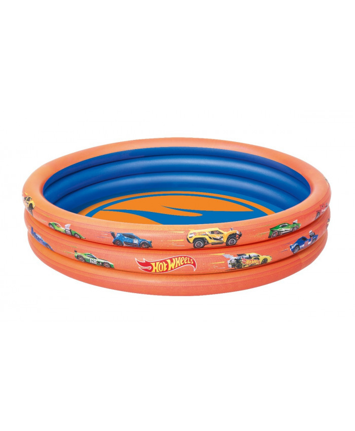PISCINA REDONDA HOT WHEELS 140 LITROS