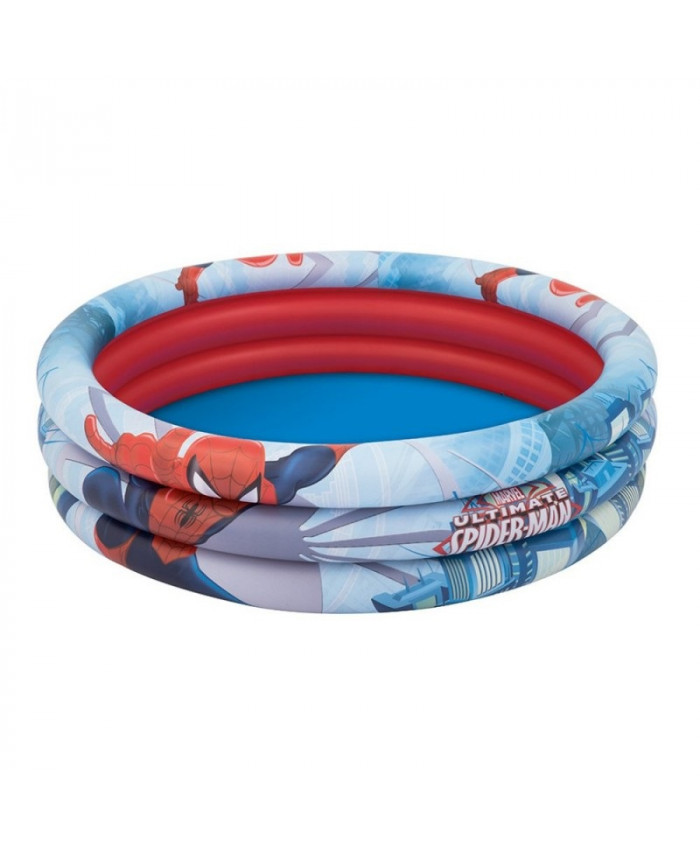 PISCINA REDONDA SPIDERMAN 200 LITROS