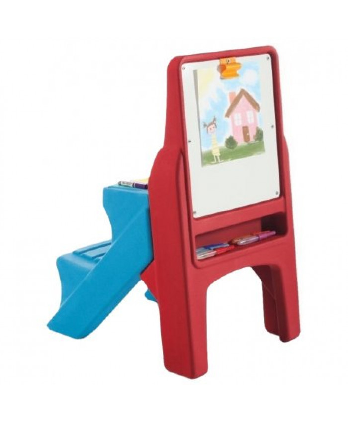 PIZARRA FLIP AND DOODLE EASEL DESK WITH STOOL - STEP 2