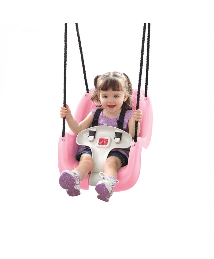 SILLA-HAMACA INFANT TODDLER SWING ROSA