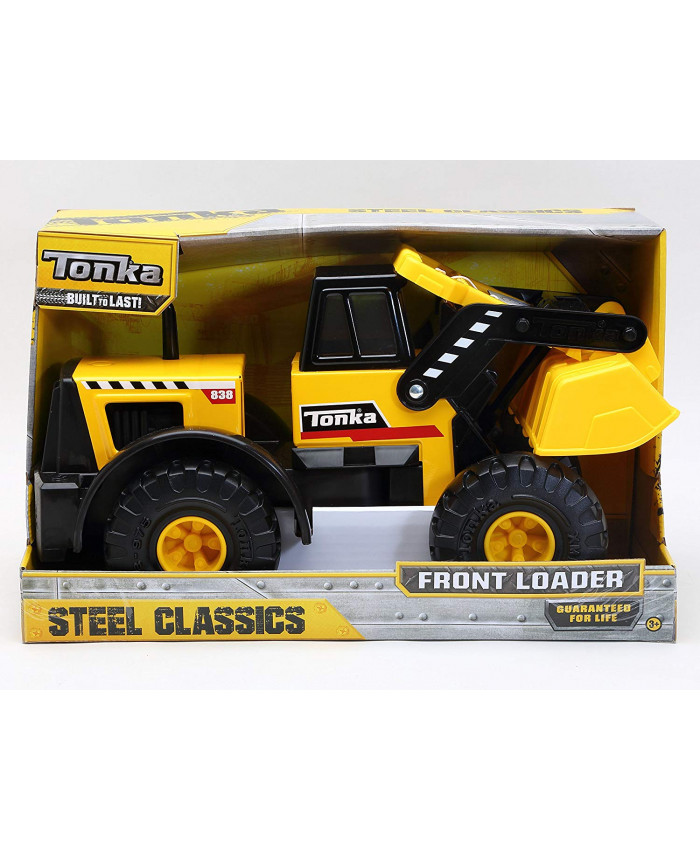 TONKA STEEL CLASSIC FRONT LOADER OPEN BOX